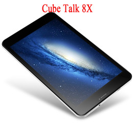 Argentina Wholesale-8.0 '' Cube U27GT talk8x talk8 Android 4.4 MTK8127 Quad Core 1GB / 8GB GPS BT 0.3 + 2MP tabletas pc supplier multi touch tablet pc Suministro