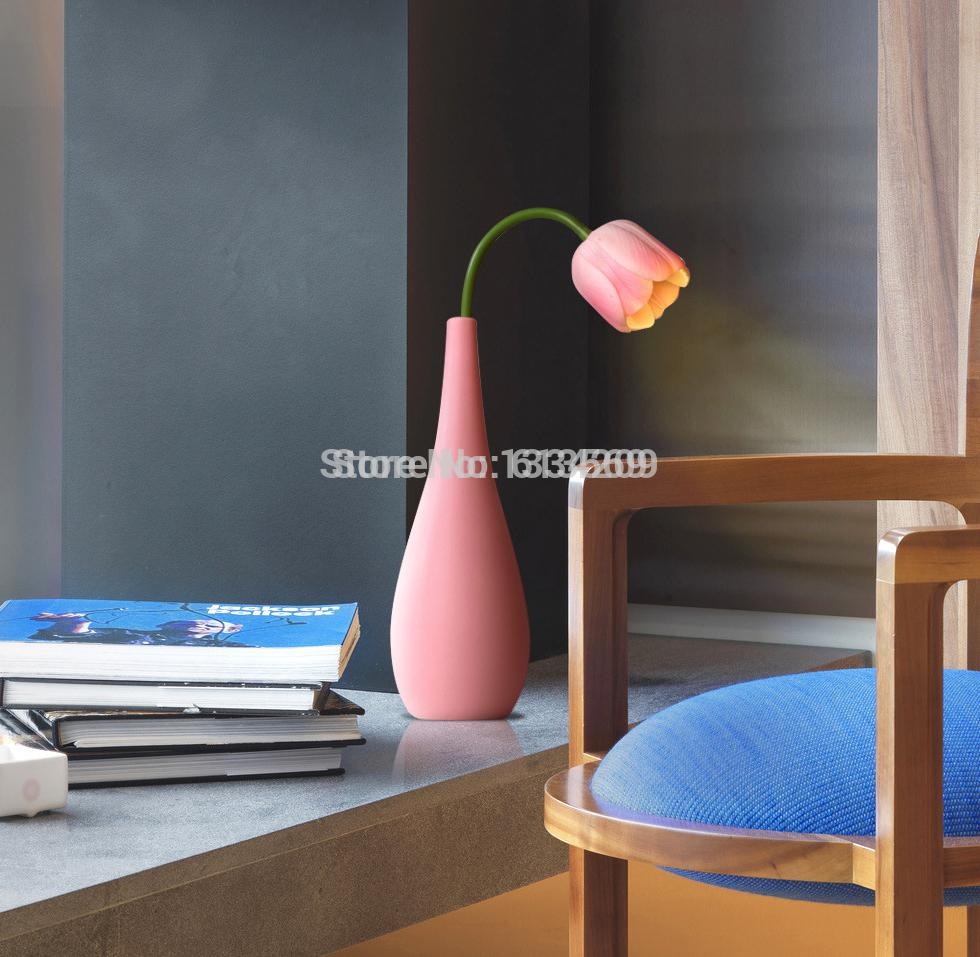2018 Wholesale Kingart220v Tulip Table Lamp Creative Ceramic Lamps With Usb  Beatutiful Night Light Light Up Your Home Lovely Birthday Gift From  Rosaling, ...