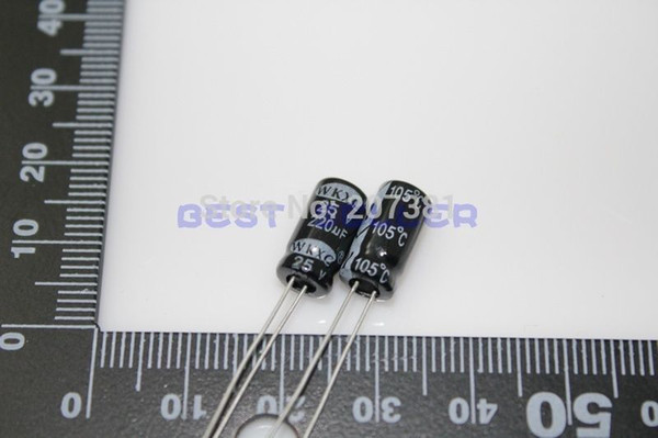 25 x 22uF 16V 105C Radial Electrolytic Capacitor 5x11mm USA SELLER Free Shipping