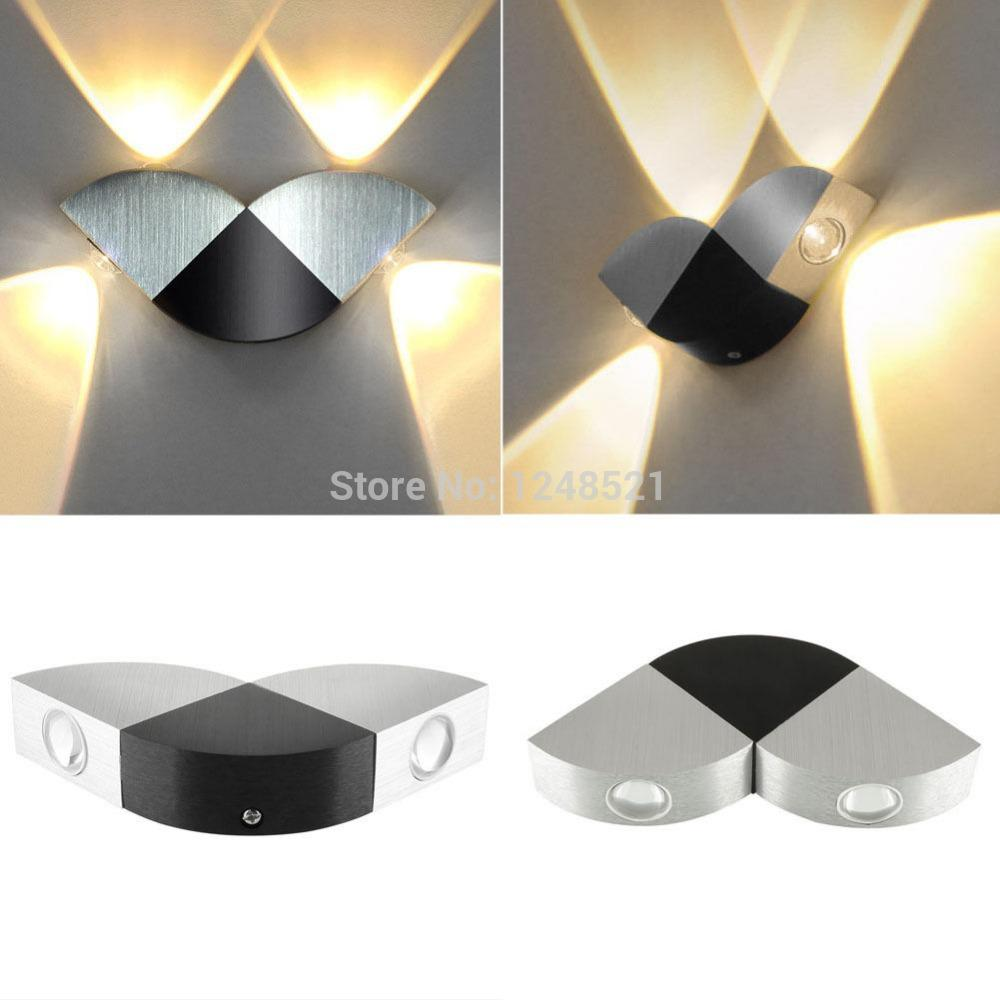2017 Wholesale Hot Sell 8w Warm White Led Bedroom Dining Room Foyer Decor Hallway Wall Lamp Up And Down Mirror Ac85 265v Background Light From Burty