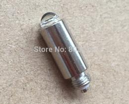 lampada alogena al tungsteno Sconti welch allyn 03100 lampada otoscopio alternativa 3.5 v spedizione gratuita