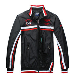 Wholesale Thin Jackets For Sale - Fall-Hot Sale 2015 Fashion Top Sports Jackets for Men Aston Martin Racing Jackets Men Thin Active Coats GB 4 Colors Free shipping