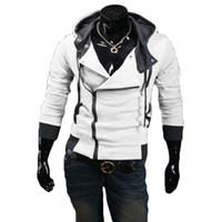 plus größe hoodies strickjacken großhandel-Großhandels-2015 Art- und Weisemänner Hoodies große Sweatshirts Long Sleeve Sportswear Mens Cardigan Trainingsanzüge Jacken-Kleidungs-Plusgröße M-4XL