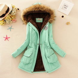 Wholesale Hoddies Women - Wholesale-2015 Thickening Warm Jackets for Women New Women's Down Parka Plus Size Parka Womens Hoddies Parkas for Women Winter