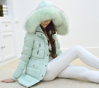 Wholesale Womens Parka Fur Hood Long - Wholesale-2015 New Fashion Down-jacket High Quality Womens Winter Jackets Brand Design Ladies Coat With Fur Hood Long Parka Coats XXXL