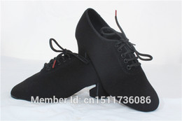 Wholesale Latin Ballroom Dance Black Shoes - Wholesale-dancesport dance ladies teacher practice shoes for ballroom dance or latin dance split sole t1b