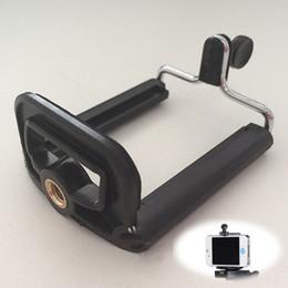 Großhandels-praktisches Handy-Kamera-Smartphone-Standplatz-Klipp-Halter-Berg-Stativ-Einfassungs-Adapter Einbeinstativ-Klammer-Schwarzes PlasticMetal von Fabrikanten