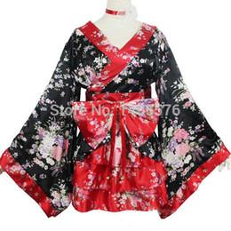 Wholesale Japan Maid - Wholesale-women Sakura Cosplay anime clothes kimono of Japan maid cosplay outfits Lolita princess dress
