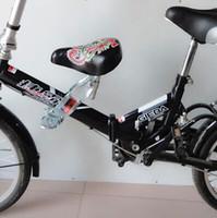 Wholesale Bike Chair - Wholesale-Bicycle folding bike mountain bike child udprc chair seat seatstay rack saddle seat bicycle accessories