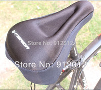 Gros-2015 livraison gratuite Cyclisme Vélo New Bicycle Saddle Silicone Seat Cover Silica Gel Cushion Soft Pad