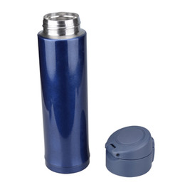 cold steel water bottle Australia - Wholesale-Fashion stainless steel sport thermos Vacuum Thermo flask mug mini hot cold water bottle falsk drinkware 500ML