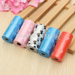 Discount plastic poop - Wholesale- Biodegradable Dog Puppy for Cat Pet Waste Poop Pick Up Garbage Clean Plastic Bag Free Shipping