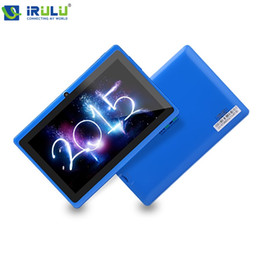 """Wholesale Irulu Quad - Wholesale-IRULU Expro 7"""" Tablet PC Allwinner A33 Quad Core Android 4.4 Tablet 1.5GHz ROM 8GB Dual Camera OTG WIFI Support 3G New"""