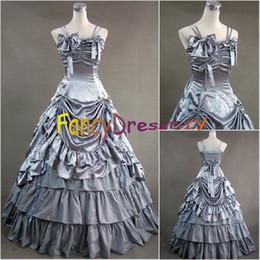 Wholesale Marie Antoinette Dresses - Wholesale-2015 Renaissance Victorian Gothic Marie Antoinette Civil War Cosplay Dress Southern Belle Ball Gown Dress V063
