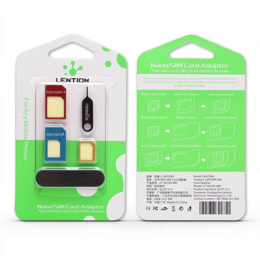 sim karte iphone 5 Sim Card Usa Wholesale LANTION 3 In 1 Nano Sim Karten Adapter