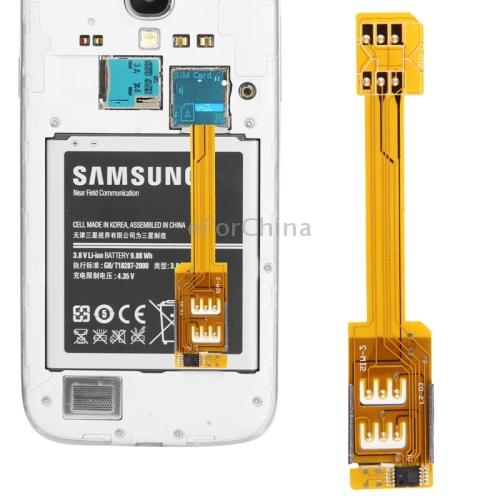 Wholesale Multi Sim Card Adapter For Samsung Galaxy S5g900 S4i9500 S3i9300 Note 3 N9000 Note 2 Mega 63 Grand 2 Standard Sim To Micro Sim