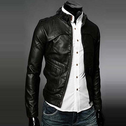 Discount Mens Trendy Jacket | 2017 Mens Black Trendy Jacket on ...
