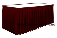 Al por mayor-10 13 pies x 29 '' RED Tabla Faldas