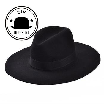 4a1ec915f52 2019 Wholesale 2015 New Vintage Autumn Winter Wool Women S Men Fedora Hats  Floppy Trilby Felted Hat Ladies Cowboy Cap From Newcollection
