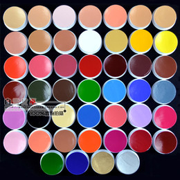 Wholesale Colored Tattoos - Wholesale-Free Shipping face paint Body Paint Pro Body Painting Tattoo For Body Art colored drawing clown temporary tattoos women 1-26