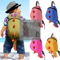 Wholesale Dinosaur Backpacks - Wholesale-kids backpack Hot Sale girls boys children backpack school bags cartoon animals smaller dinosaurs snacks 2-6 year fashion 29