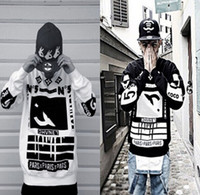 Wholesale Hot Sale Cotton Loose Fack COCO Harajuku Letter Sweatshirt Long Sleeve Hip Hop Streetwear Sweatshirt XXL