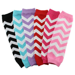 Wholesale Wholesale Christmas Chevron Leggings - Wholesale-baby boy's girl's leg warmers Christmas striped Chevron army Warmers infant toddler accessories