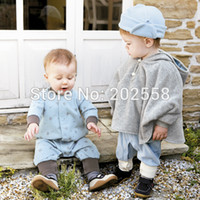 Wholesale Baby Cloak Reversible - Wholesale-2016 Baby Jacket Girl Baby Cloak Two-sided Wear Reversible Children's Cape Outerwear Jacket Clothing Coat Velvet Hoodie Romper