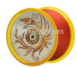 Wholesale Blazing Teens Yoyo - Wholesale-Auldey Blazing Teens 4 YoYo Toy fire phoenix metal professional competitive Primary Level YO-YO YoYo Ball 1A 3A 5A