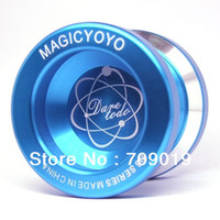 Wholesale Yoyo N8 - Wholesale-DHL EMS Free shipping Wholesale the butterfly magic yoyo metal yoyos sale,N8 Advanced Aluminum professional yoyo 20 pcs lot