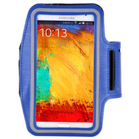 Wholesale Armband Galaxy Note Ii - Wholesale-Note 1 2 3 4 Exercise Running SPORTS GYM Armband Bag Case for Samsung Galaxy Note II N7100 III N9000 N9005 IV N9100 Arm Band