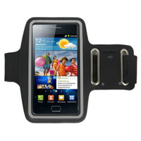 Wholesale Sii Cover - Wholesale-New Running Biking Outdoor Phone Sports Gym Armband Arm Band Case Pouch Cover for Samsung Galaxy S2 SII i9100 1-east
