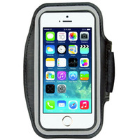 Wholesale Neoprene Belt Band - Wholesale-9 Colors Fashion Sports Running Armband Case for iPhone 6 Plus 5.5 inch Belt Wrist Strap Gym Arm Band Cover Sport Phone Case
