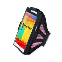 Wholesale Cases For Note1 - Wholesale-2pcs Workout Sport GYM Case Cover Running Sports Armbands for samsung galaxy note2 n7100 note 3 n9000 NOTE1 arm band for LG G3