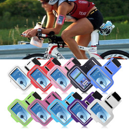Wholesale Holder Running S3 - Wholesale-For Samsung Galaxy S3 mini i8190 Sports Running Gym Phone Holder Arm Band Armband Case