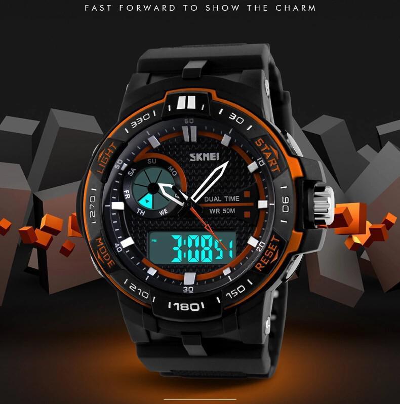 Wholesale Skmei Relojes Deportivos Para Hombre Digital LED Marca De Lujo Para  Hombre Reloj Impermeable Militar Relojes De Pulsera Para Hom Watch Shopping  ... 65f5cc643b3d