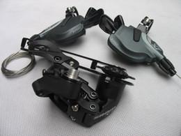 Wholesale Sram X - Wholesale-New Sram X-7 MTB 27 3x9-speed Shift levers + X7 Rear Derailleur Group Set bicicleta bicycle parts