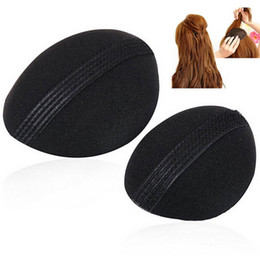Wholesale Volume Hair Styles - Wholesale-1sets(2pcs) Hot Worldwide Volume Hair Base Bump Styling Insert Tool Wholesale