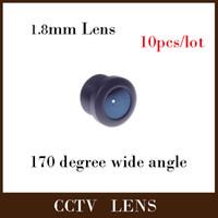 caméras de bord achat en gros de-Gualanteed 100% 1.8mm Objectif grand angle de caméra de conseil de CCTV IR de 170 degrés