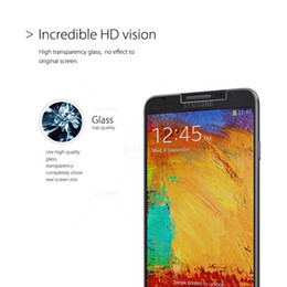 Wholesale Titan Protector - Wholesale-Explosion proof Premium Tempered Glass Screen Protector for Samsung Galaxy Note 3 High Clear Protective Film GODOSMITH Titan