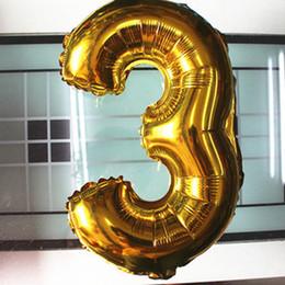 Оптовая торговля-40 дюймов золотая и серебряная фольга 40 дюймов большое количество гелия воздушные шары свадебные украшения день рождения сувениры сувениры от Поставщики оптовик гитары