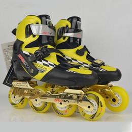 Wholesale Wholesales Seba Skates - Wholesale-2015 SEBA KSJ Adult Professional Inline Skates Roller Skating Shoes Slalom Braking Free Skating Rollerblade Carbon Fiber Patins
