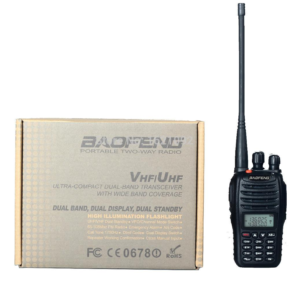 Wholesale-Best Walkie Talkie baofeng UV b5 Dual Band Two