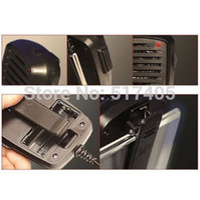 Wholesale Transceiver Iphone - Wholesale-Retro CB Radio Transceiver Handset for iPhone and Most Smart Phones Shoulder Speak Mic Walkie Talkie