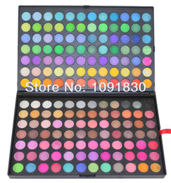 Wholesale Eyeshadow Palette 168 Color - Wholesale-168 Color Eyeshadow Cosmetics Mineral Make Up Makeup Eye Shadow Palette Free Shipping