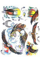 Wholesale Hawking Books - Wholesale-PDF Format Beautiful Animal Tattoo Designs Book Tiger Wolf Hawk Lion Sketch Tattoo Flash Book Reference PDF Free Shipping