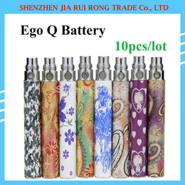 Wholesale E Cig Q Kit - Wholesale-Ego Q Ego-Queen Battery for Electonic Cigarette Kits Ego Q Battery for E Cigarette 650mah 900mah 1100mah E Cig Battery 10pcs lot