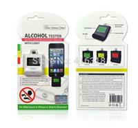 Wholesale Ipega Ipad Mini - Wholesale-DHL 100pcs lot Wholesale iPega PG-I5006 Digital Backlight Alcohol Tester Breathalyzer for iPhone 6 5 5S iPad 4 Mini iPad Air