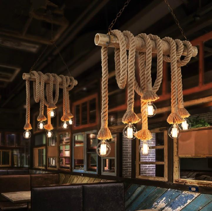 image vintage drum pendant lighting. wholesalesingle bulb 2 bulbs creative personality rope pendant lights vintage restaurant lamp dining room lamps hemp light image drum lighting
