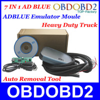 Wholesale Blue Emulator - Wholesale-Lowest Price Adblue Emulator For Heavy Duty Truck Ad blue Remover Tool With Programming Adapters 7In1 Best Quality Post Shipping